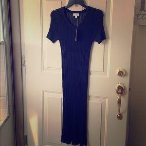 BCBGMAXAZRIA   Sheer Black Dress